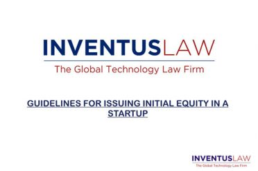 Guidelines For Issuing Initial Equity In A Startup